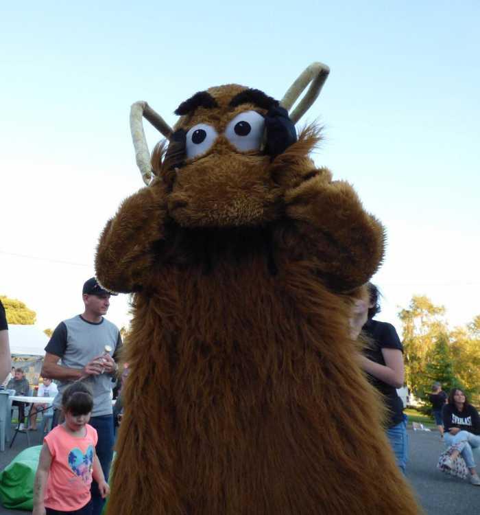 mascot at Beaconsfield Festival