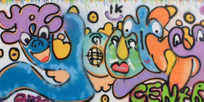 graffiti board