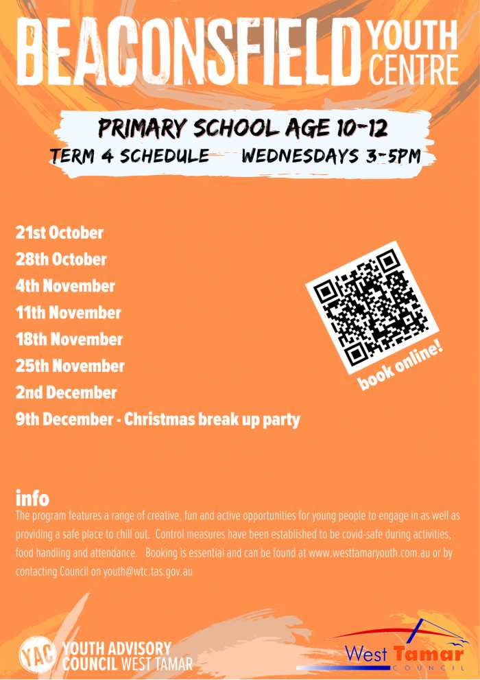 Beaconsfield Youth Centre primary age term 4